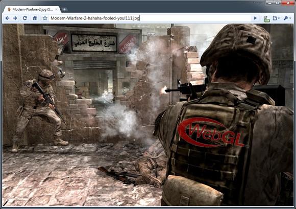 Modern Warfare 2 WebGL