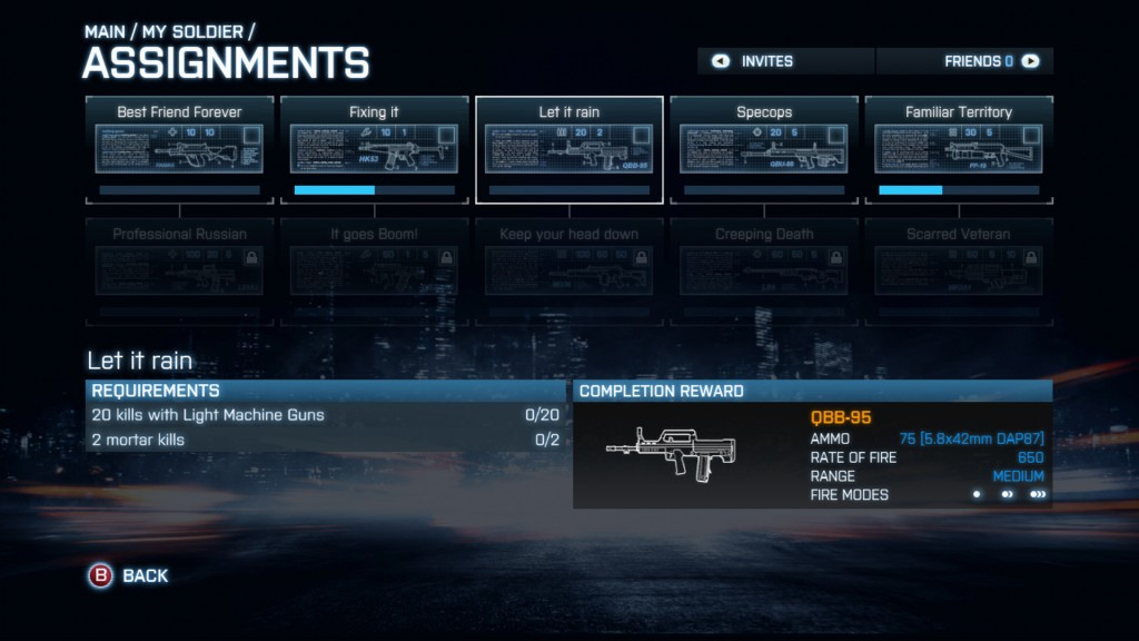 Battlefield 3 Back to Karkand Assignments Explained
