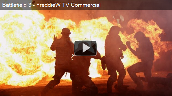 FreddieW BF3 TV Commercial
