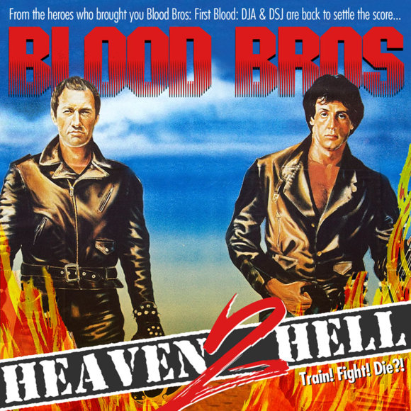 Blood Bros - Heaven 2 Hell Cover Art