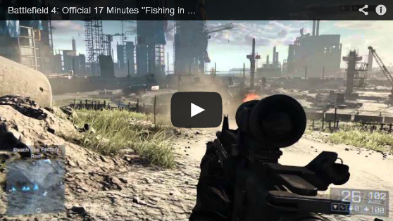 Battlefield 4 First Official Gameplay Trailer Fishing in Baku Full HD